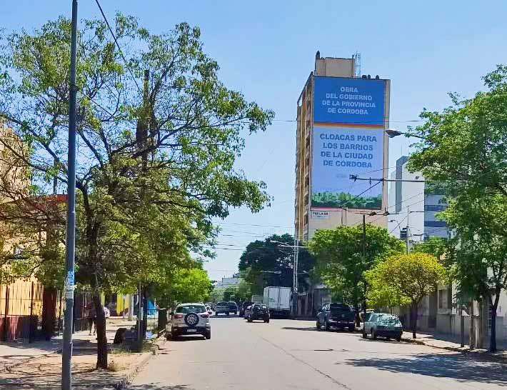 Medianera Sarmiento 1387