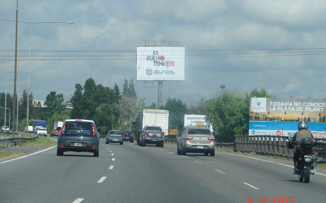Columna Panamericana Ramal Pilar Km 46