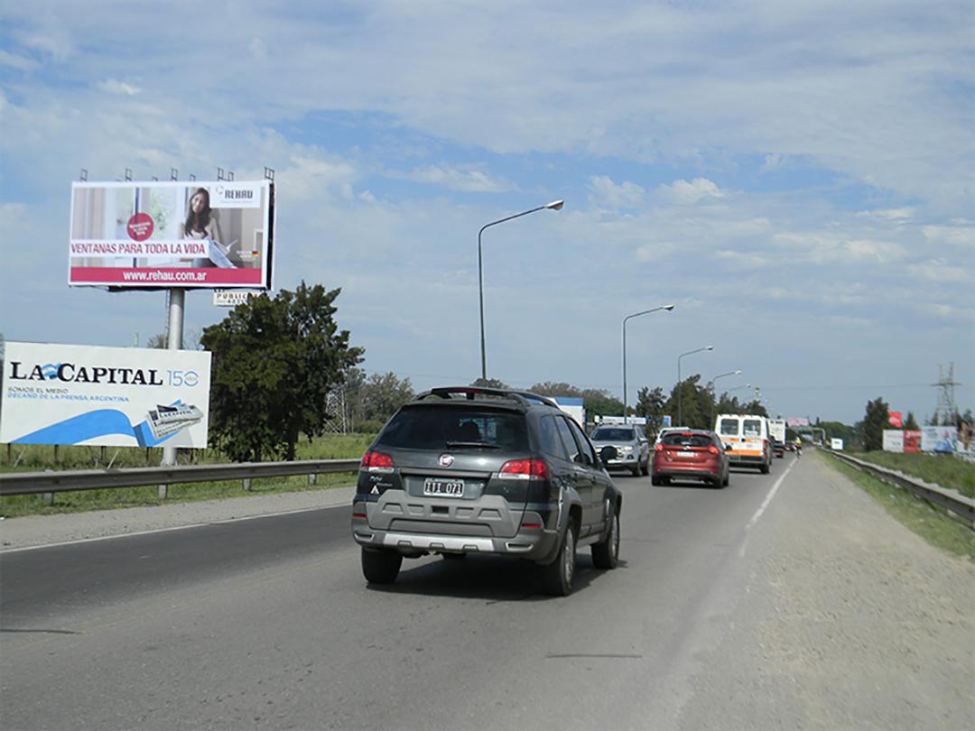 Columna Acc. por Ruta 9 km 315